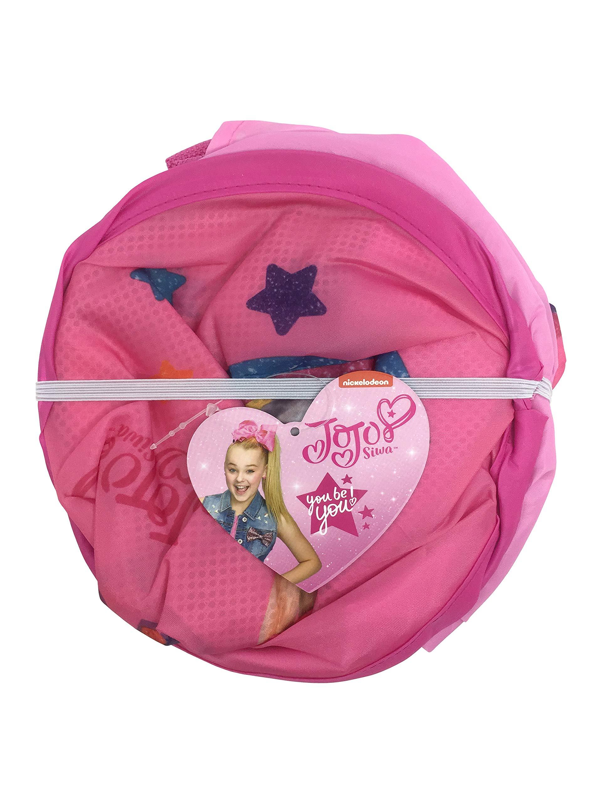 Jay Franco Nickelodeon JoJo Siwa Peace Love Music Pop Up Hamper, Pink