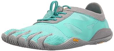 Vibram FiveFingers Damen KSO Evo Outdoor Fitnessschuhe, Mehrfarbig (Mint/Grey), 37 EU
