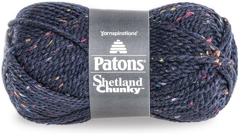 Toasty Tweed 1 Ball 3 oz Patons Shetland Chunky Tweeds Yarn
