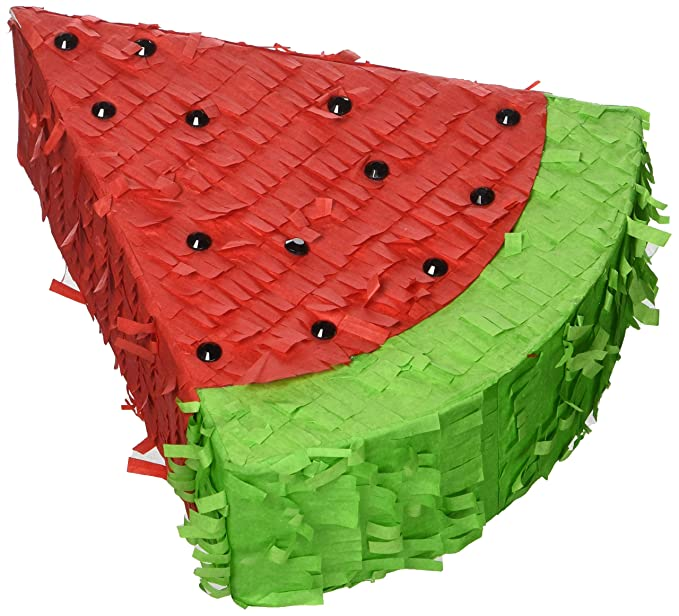 Mehrfarbig Amscan 242163 Pinata Wassermelone Spielzeug 13,9 x 16,5 cm