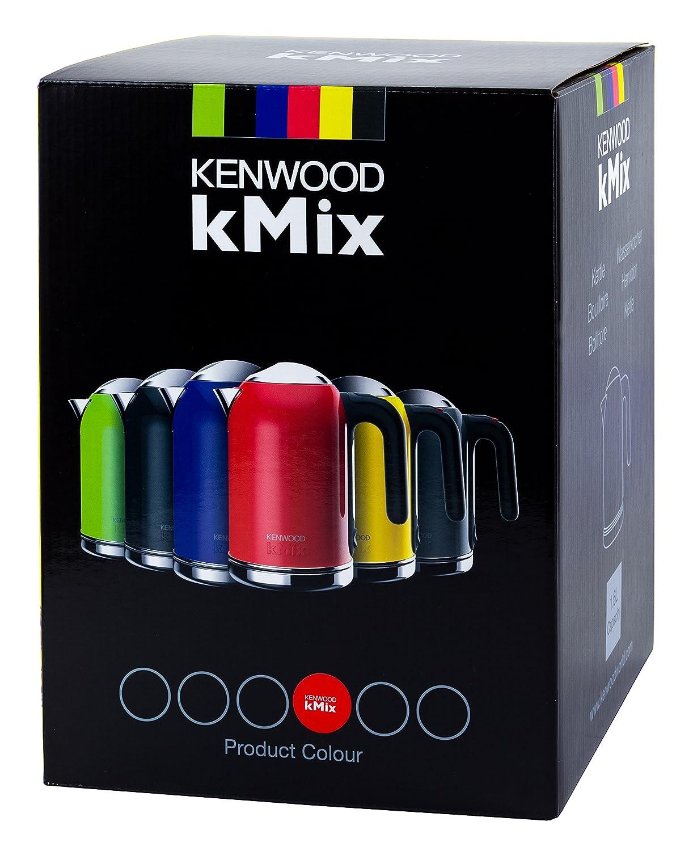 Kenwood SJM030 - Calentador de agua, acero inoxidable, color rojo Bermellón: Amazon.es