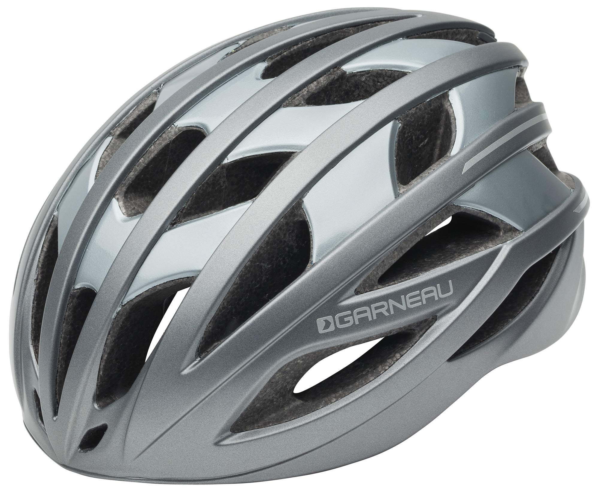 Louis Garneau Equipe Bike Helmet for Men and Women, Gray, Medium