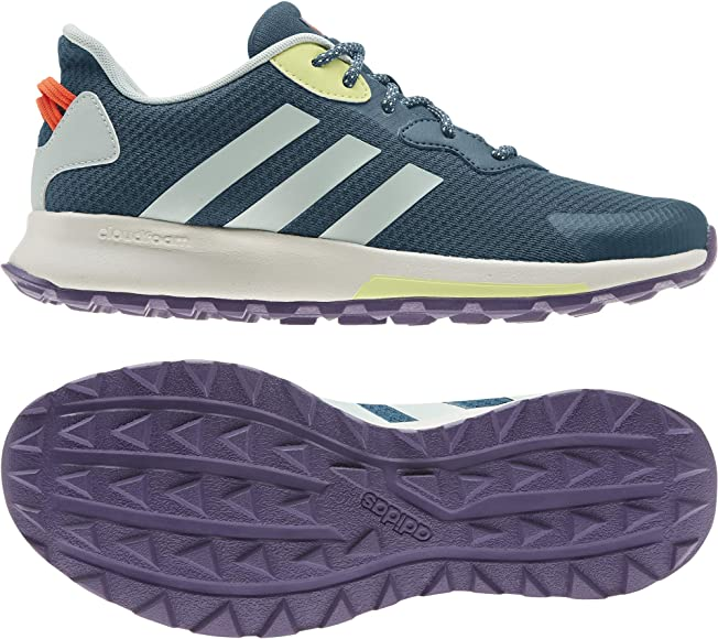 Adidas QUESA Trail X, Zapatillas Running Mujer, Azul (Tech Mineral/Green Tint/Yellow Tint): Amazon.es: Zapatos y complementos