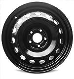 New Jeep Renegade (13-15) 16 Inch Steel OEM Replica Replacement Full-Size Black Wheel Rim 16x6.5 5x110 68256382AA