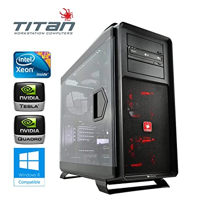 Titan Computers X199 Workstation - Intel Core i7-5960X Haswell-E 3.0GHz (