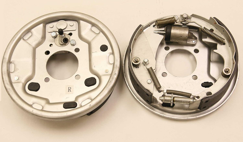 New 10 x 2-1//4 Trailer Hydraulic Free Backing Marine Brake Assembly Pair Set 21016