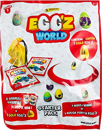 Panini Album Carton Starter Pack Egg.Z World 1 UD: Amazon.es ...