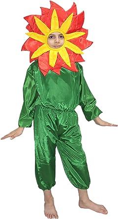 Disfraz De Flor Roja Para Niños Disfraz De Naturaleza Para Función Anual Fiesta Temática 10 12 Años Clothing