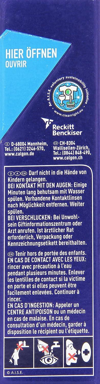 Calgon 2in1 Pulver Wasserenthärter gegen Kalk & Schmutz in der