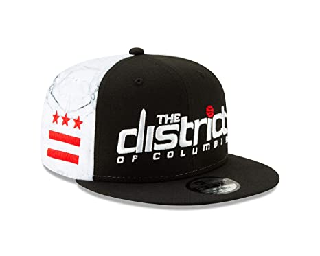 afed197ed71f9 Image Unavailable. Image not available for. Color  New Era Washington  Wizards 2018 City Series On-Court 9FIFTY Snapback Hat- Black