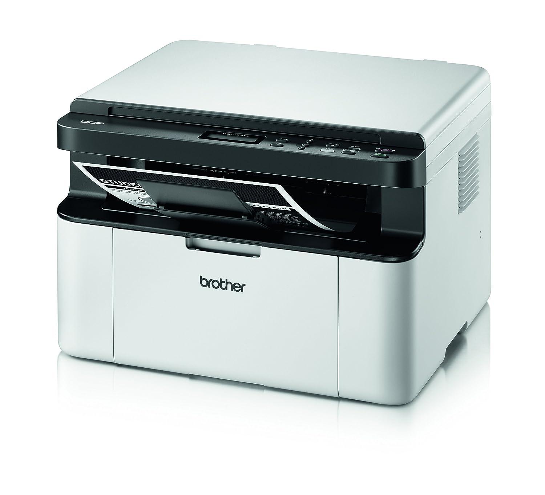 Brother DCP W Impresora multifunción láser monocromo WiFi blanco y negro
