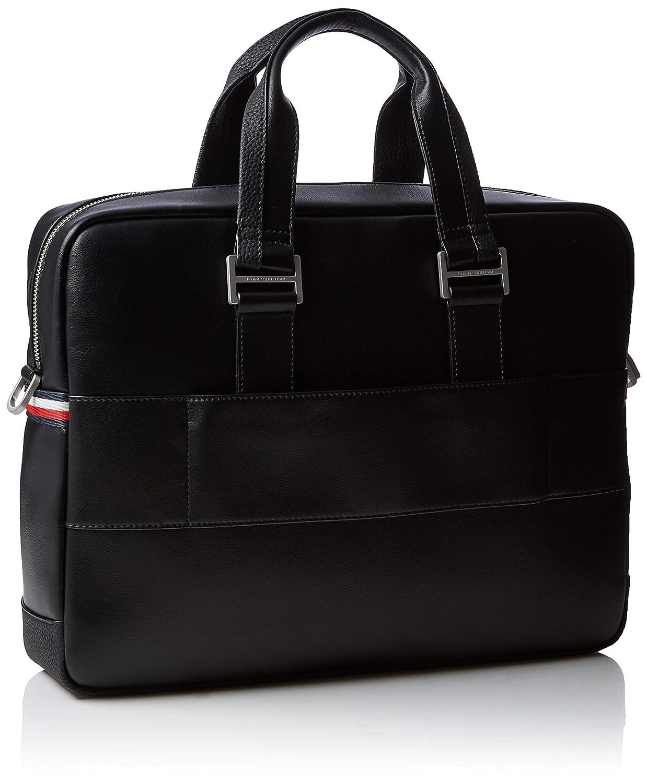 Th Business Computer Bag Tommy Hilfiger Black