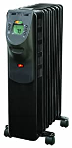 Comfort Zone Digital Electric Oil Filled Radiator Heater