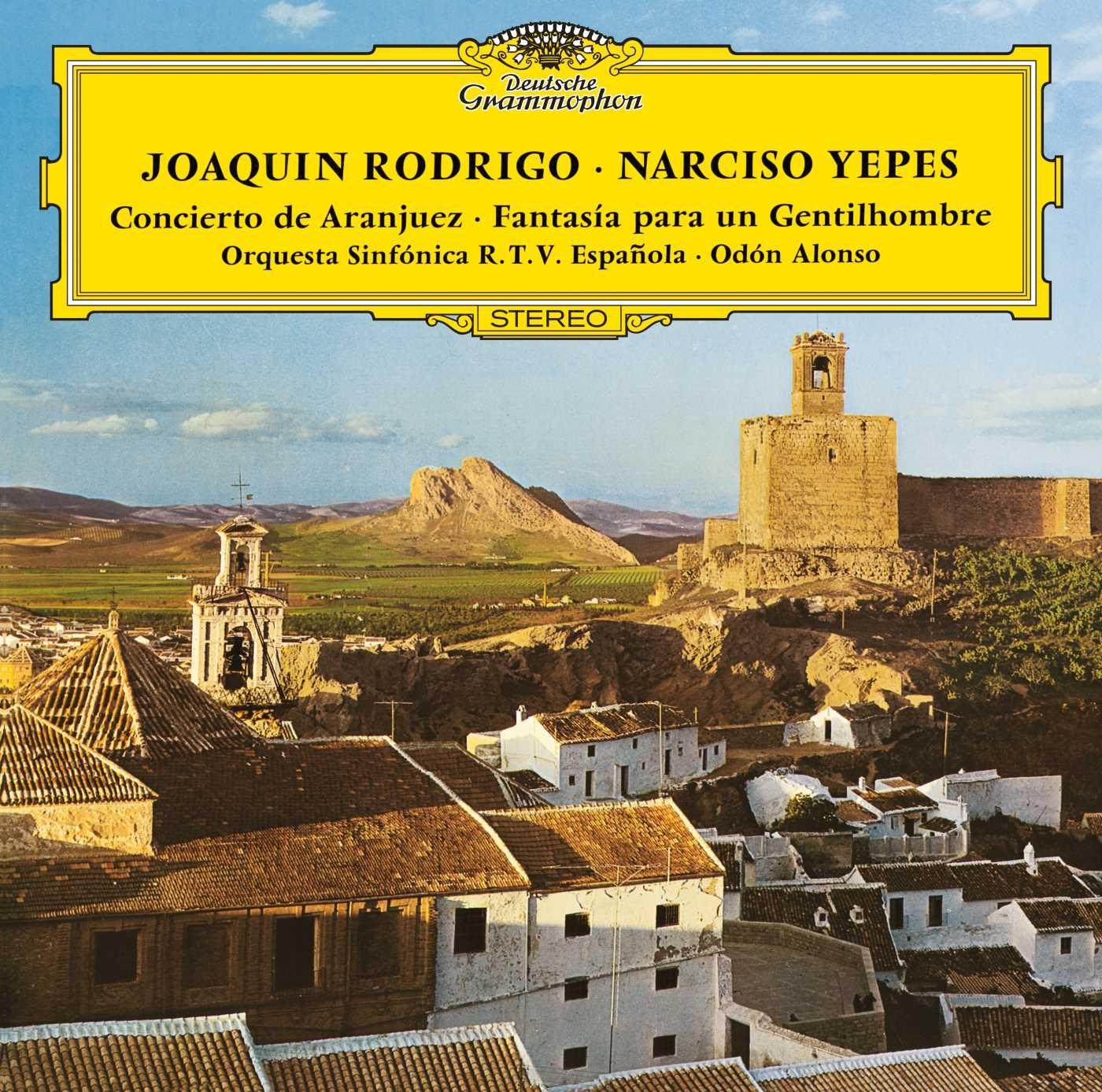 Amazon.com: Joaquin Rodrigo: Concerto De Aranjuez-Fantasia ...