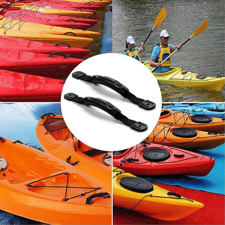 4 Screws 2Pcs Stainless Kayak Canoe Boat Pad Eye Kayak Rigging Accessories