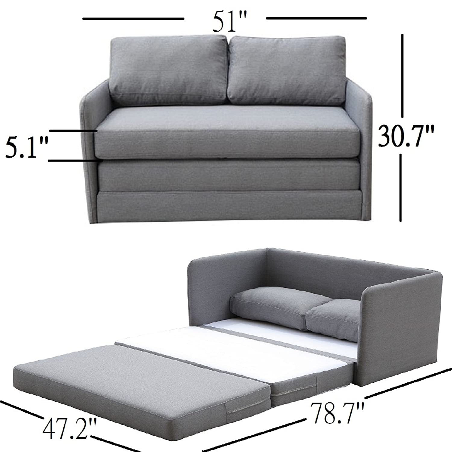 tufted collections mid products loveseat modern fabric sofa love sofas century light g grey futon seat linen