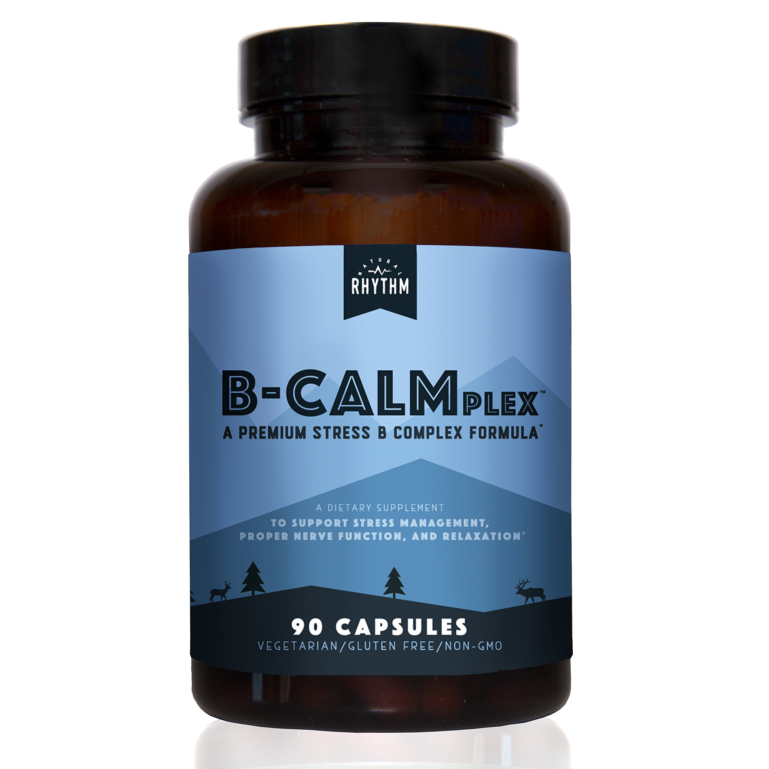 B-CALMplex - Stress B-Complex - Vitamin B Complex for Stress & Anxiety