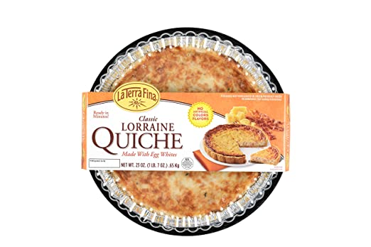 La Terra Fina Classic Quiche Lorraine 23 Oz Amazon Grocery