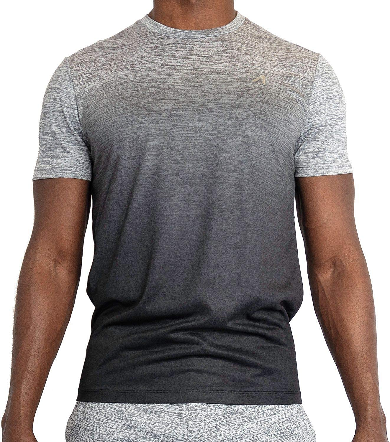 Alive Men's Tee Shirt Quick Dry Active Performance Short Sleeve Shirt