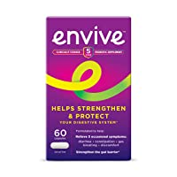 Envive Daily Probiotic Supplement for Men and Women, Helps Strengthen and Protect The Digestive System*, 60 Capsules