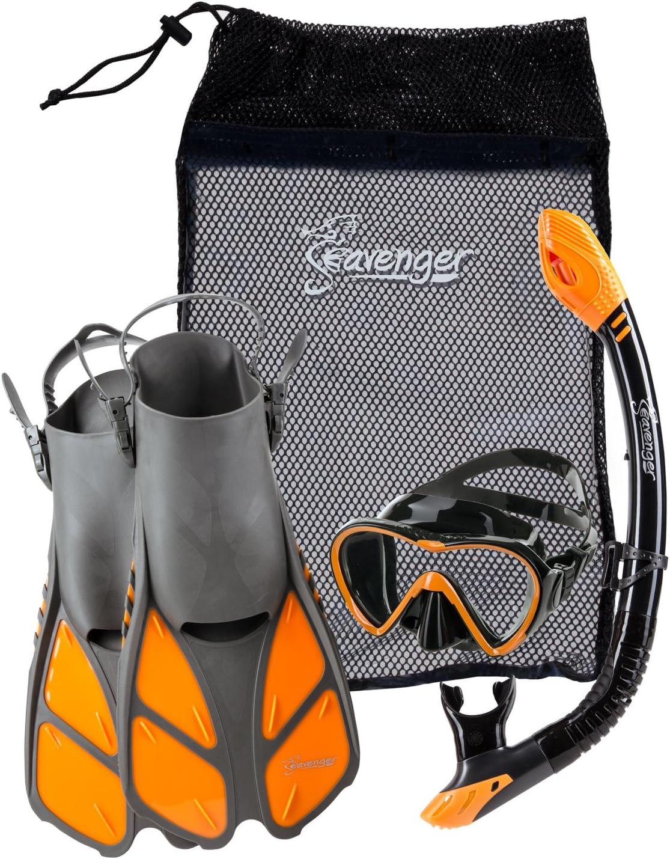 5. Seavengaer Adult and Junior Snorkel Gear