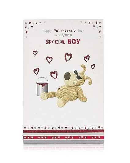 Tarjeta de San Valentín para él, Boofle tarjeta de regalo de ...