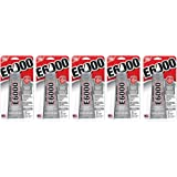 E6000 237032 Multipurpose uJrVtY Adhesive, 2 fl oz Clear (Pack of 5)