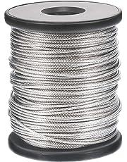 15m câble acier inox 3mm cordage torons 7x19