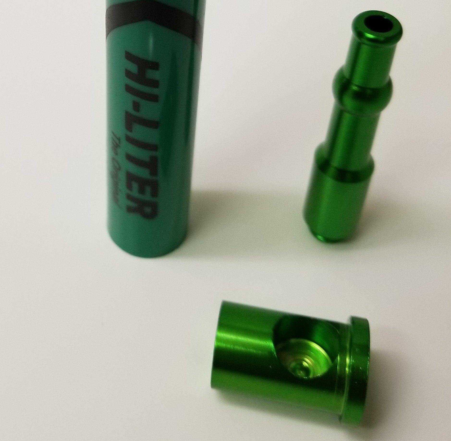 420 HI-LITER Marker pen diversion safe - decoy stash with piping (BLUE)