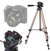 DURAGADGET Trípode Profesional para Canon PowerShot SX420 IS / SX540 HS - con Nivel De Burbuja