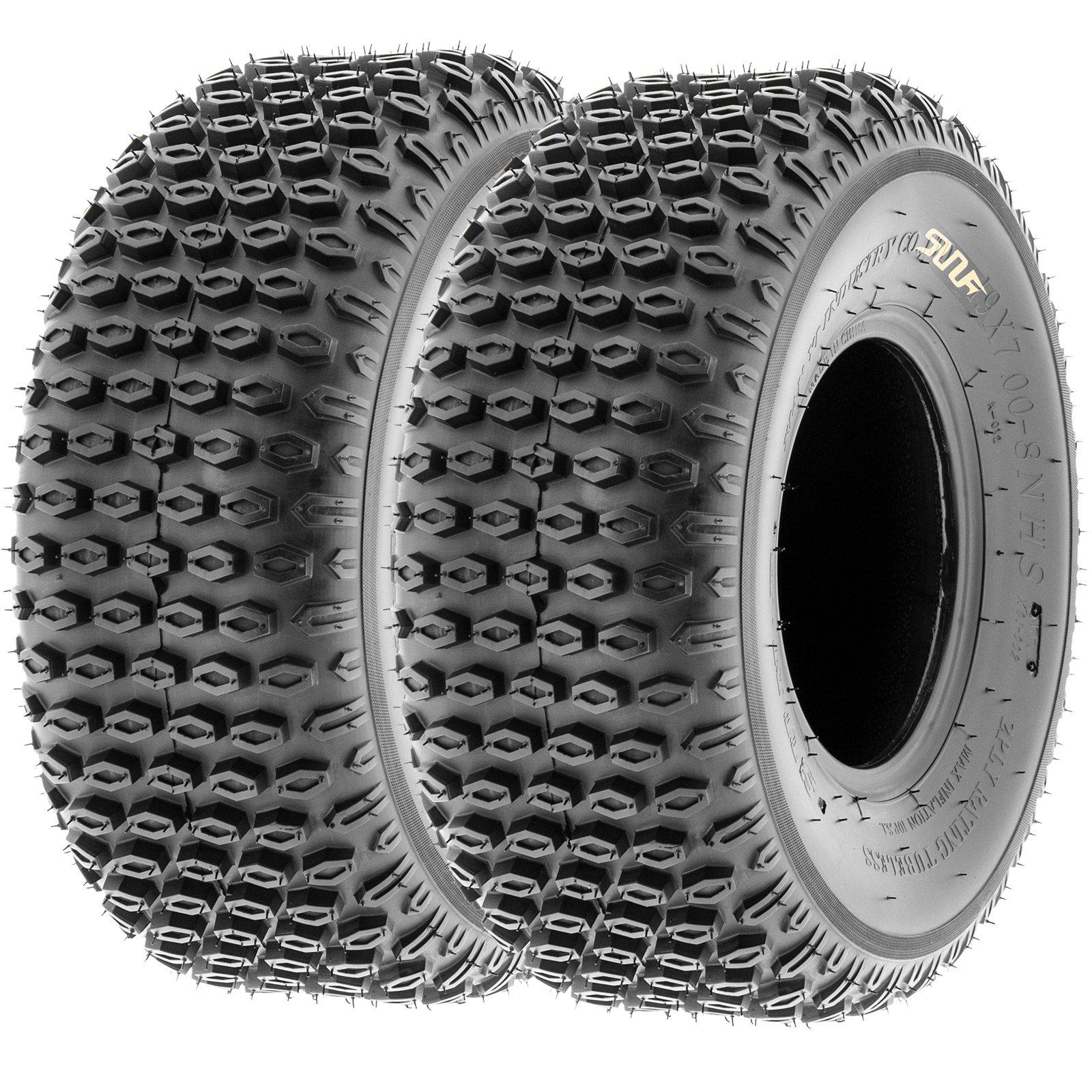 SunF Quad ATV Sport Tires 16x8-7 16x8x7 4 PR A012 (Full set of 4) by SunF (Image #3)