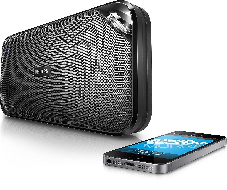 PHILIPS GBOBT2500B37 BT2500B/37 GBOBT2500B37, Anywhere Bluetooth Portable Speaker