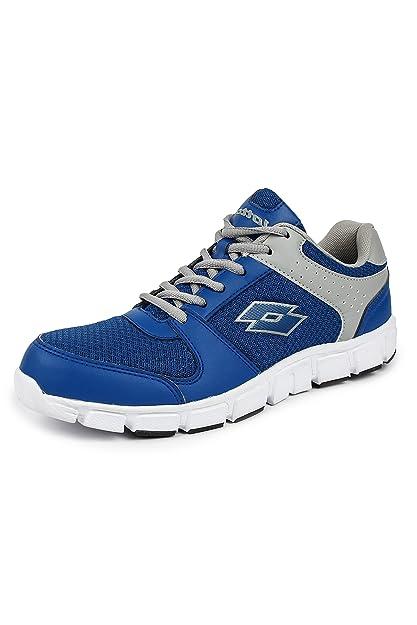 Lotto Women s Sancia Grey Blue Running Shoes - 3 UK India (37 EU 2c30da3ad7