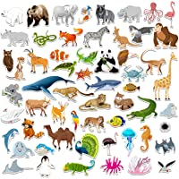 SpriteGru 59 PCS Farm Animal Zoo Magnets for Toddlers Kids, Perfect Preschool Learning