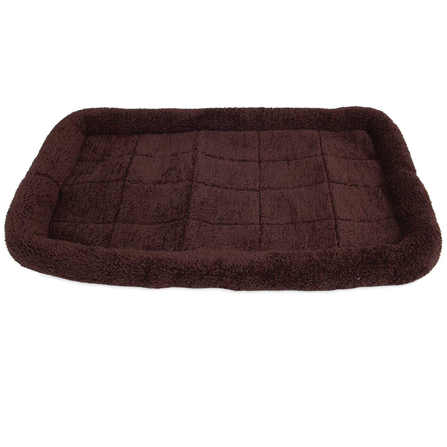 Chocolate Med. Large Chocolate Med. Large Precision Pet SnooZZy Crate Bed 4000, 37-Inch x 25-Inch, Chocolate Cozy