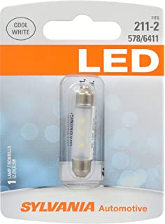 SYLVANIA 211-2 White LED Bulb, (Contains 1 Bulb)