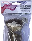 DRYZEM Washing Line Heavy Duty Extra Strong Long Life Steel Core Clothes Line 30m Aprox 100ft