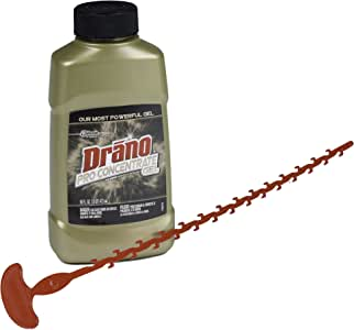 Drano - Best 16-ounce Indoor Snake Plus Tool and Gel Clog Remover Kit (6-pack)