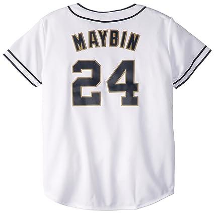 Buy MLB San Diego Padres Women s Cameron Maybin 24 Replica Jersey ... 6668e5d59