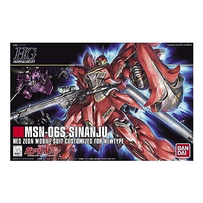 Bandai Hobby #116 MSN-06S SINANJU: Toys & Games