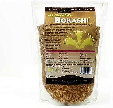 SCD Probiotics All Seasons Bokashi - Compost Starter & Microbial Inoculant - Dry Bokashi Bran for Kitchen Compost Bin - Compost Food & Pet Waste ...