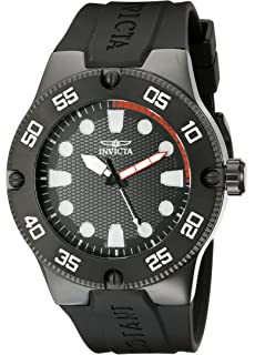 Invicta Mens 18026SYB Pro Diver Stainless Steel Watch with Black Band