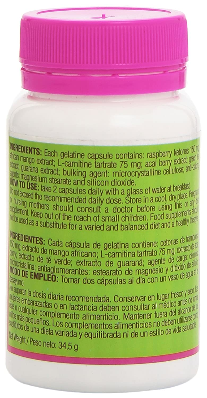 Amazon.com: Sbelta Plus Raspberry Ketone Food Supplement (60 capsules):  Health