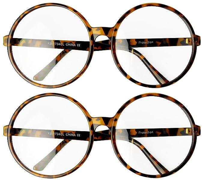 Amazon.com: W239-vp Style Vault Gafas de sol redondas de ...