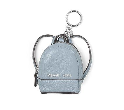 michael by michael kors rhea backpack dusty blue keyring charm one rh amazon co uk