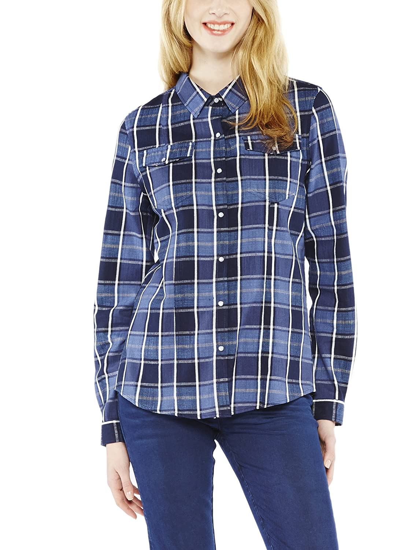 TALLA 38 (Talla Del Fabricante: S). Colorado Denim Melanie, Camisa para Mujer