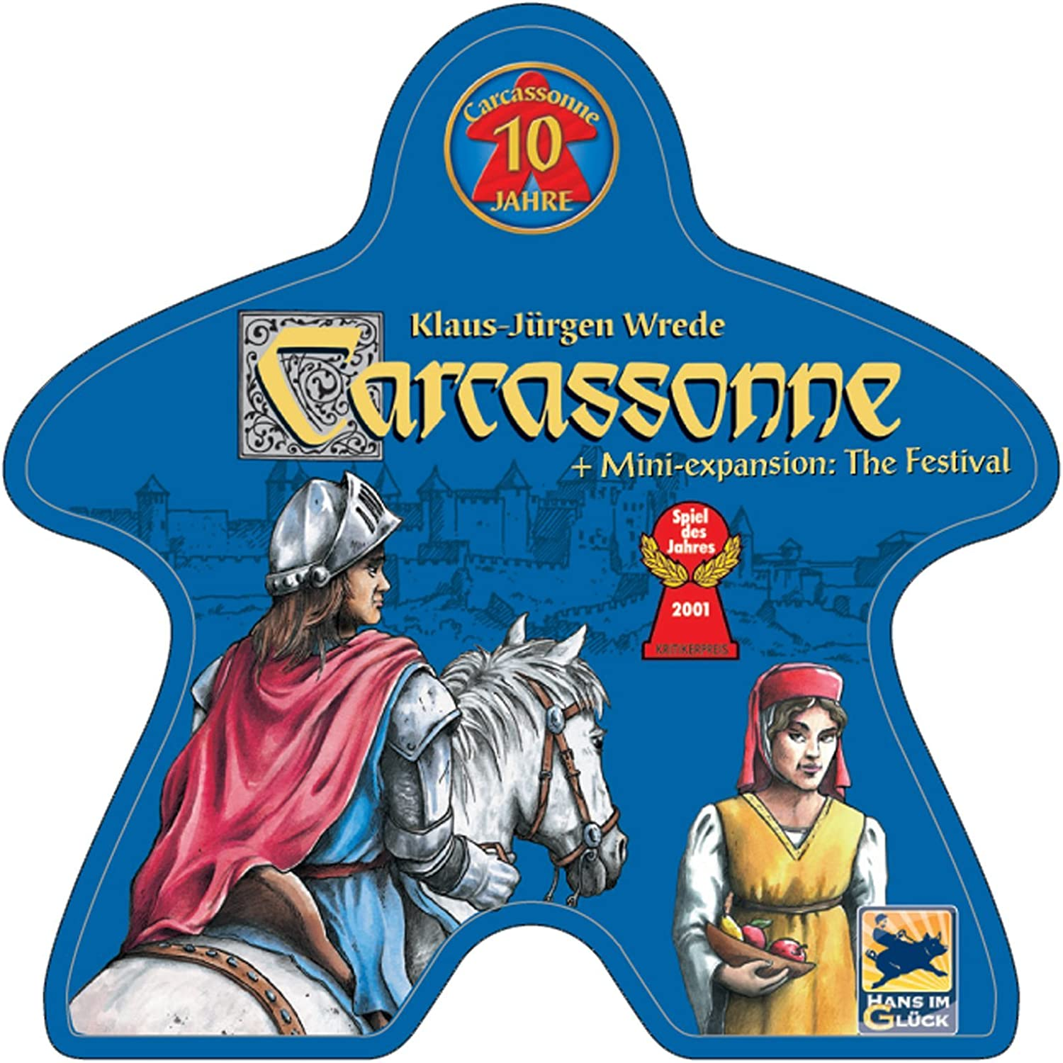 Carcassonne: 10 Year Special Edition: Amazon.es: Juguetes y juegos