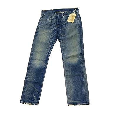 Ralph Lauren Double RL RRL Mens Denim Low Straight Selvedge Jean ...