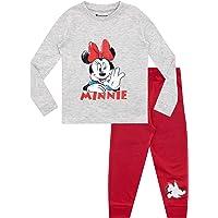 Disney Pijamas de Manga Larga para niñas Minnie Mouse Ajuste Ceñido