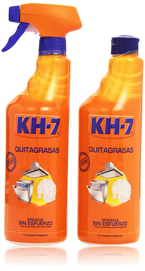 KH-7 Quitagrasas- Pack de 2 botellas x 750 ml - Total: 1500
